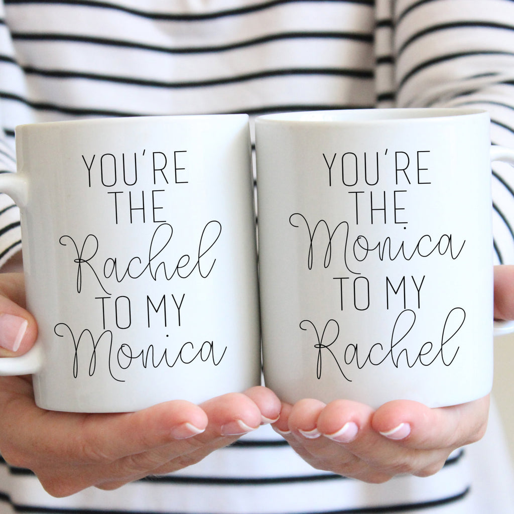 You're The Rachel To My Monica Gift Set