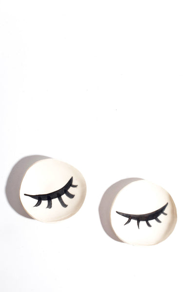 Ceramic Eyelash Catch All Dish