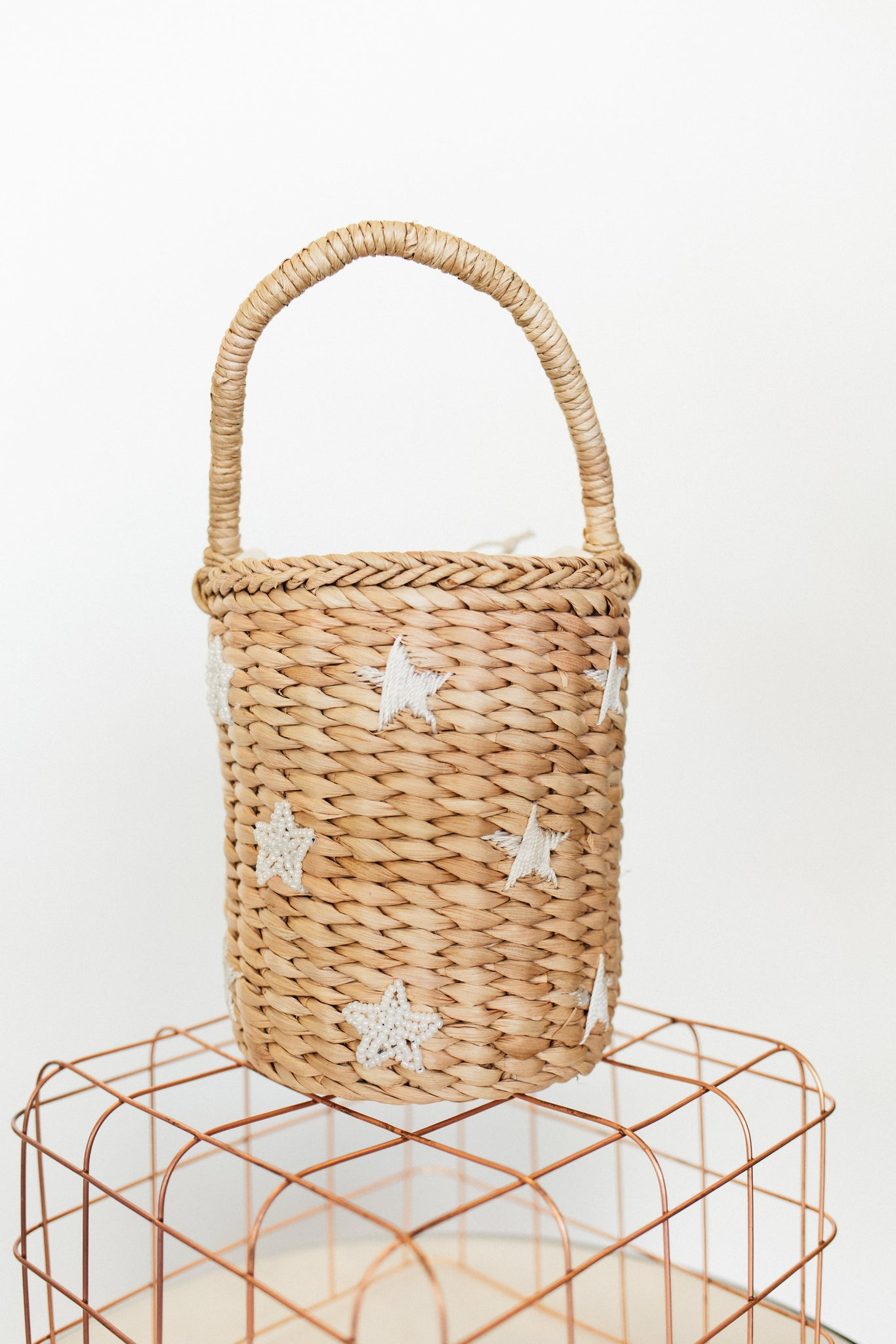 Seeing Stars Basket Bag