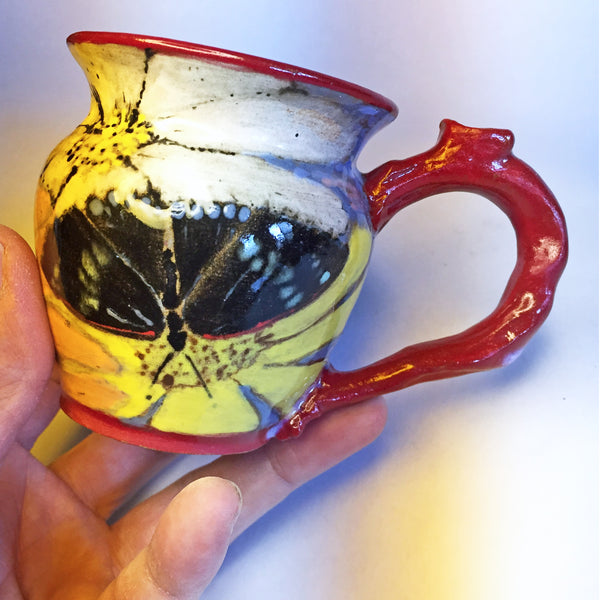 Unique, Designer, Butterfly Teacups--Simply a Pleasure to Sip From!