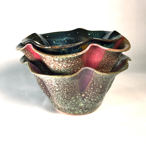 Cinquefoil Bowl Set