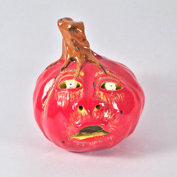Fun Ceramic Jack o' lantern-Perfect Gift for Pumpkin/Halloween Lovers!