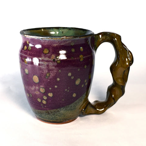 Purple and Gold Mug A