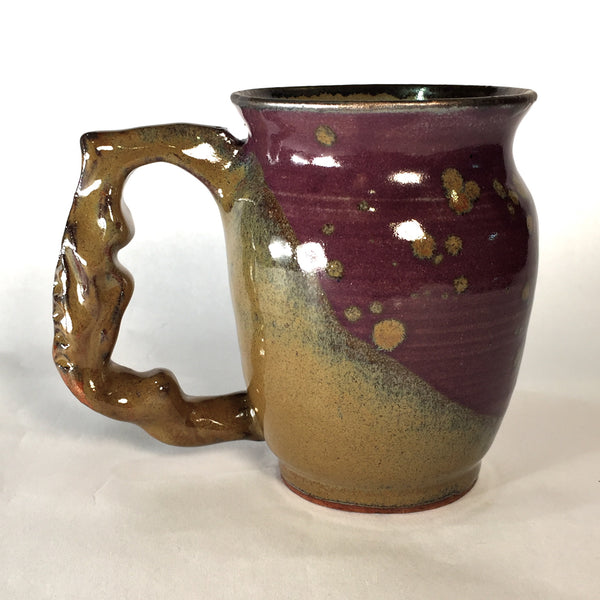 Purple and Gold Mug B