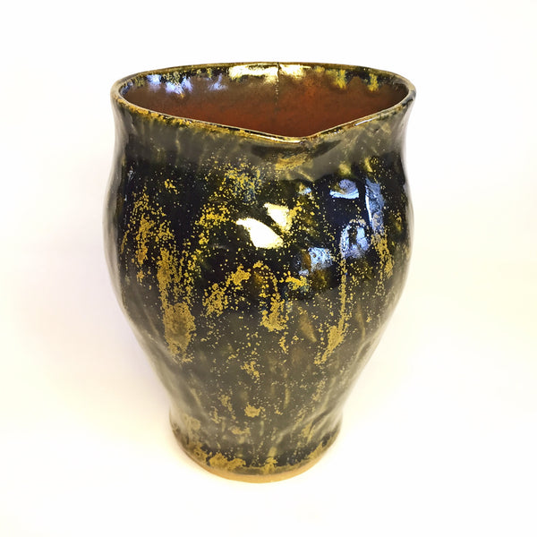 "Vase ""Midnight Flare"""