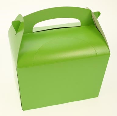 Lime Green Party Box - Pack of 50