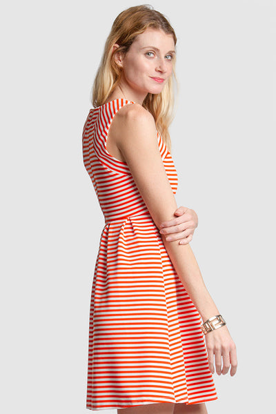 Sleeveless Knit Dress - ShopSplice - 1
