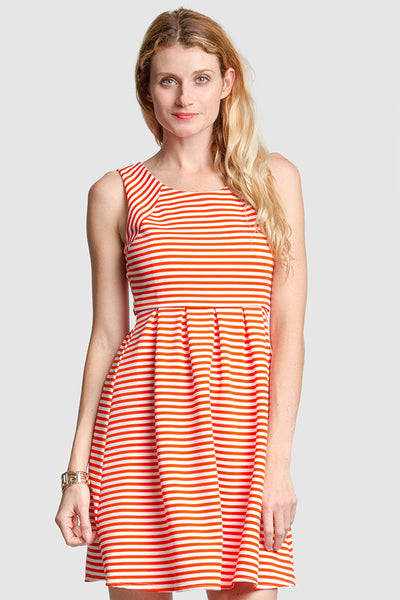 Sleeveless Knit Dress - ShopSplice - 3