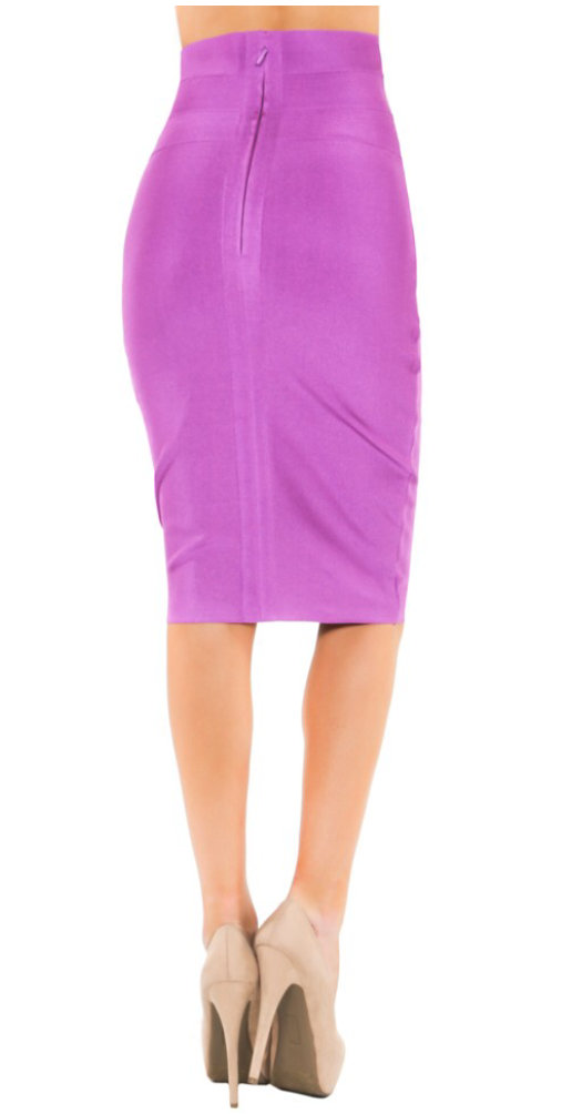 High Waist BodyCon Skirt - ShopSplice - 1
