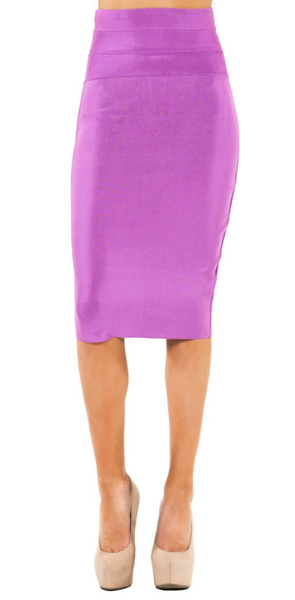 High Waist BodyCon Skirt - ShopSplice - 2