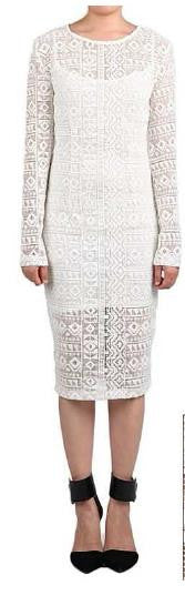 Tribal Lace Dress - ShopSplice - 1