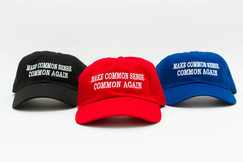 Make America Great Again, Make Common Sense Common Again