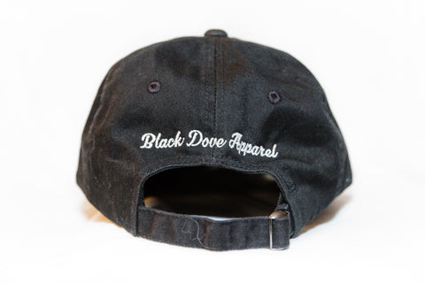 Distressed 'Living Proof' dad cap