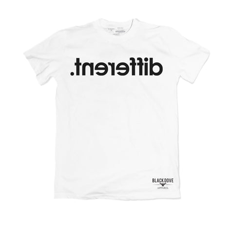 'tnereffib' ( Different) T-shirt Unisex/100% Cotton