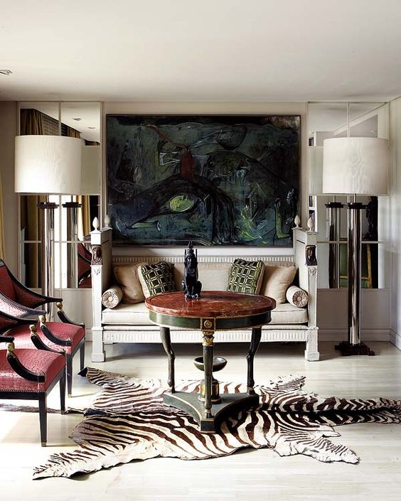 The Dos of Decorating with Zebra Skin Rug