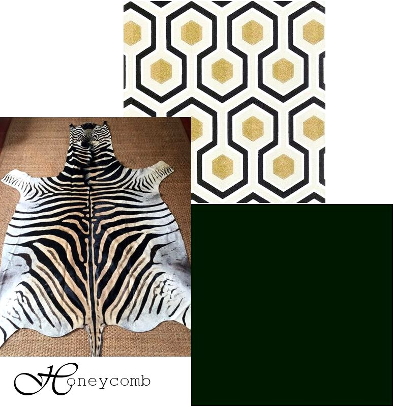 5 Pattern and Solid Combinations That Will Complement Your Zebra Skin Rug
