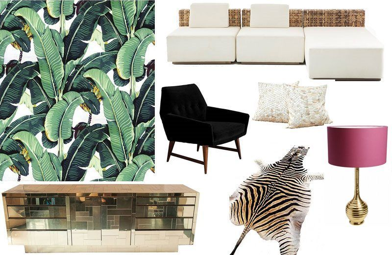 Design Focus: The Martinique Wallpaper