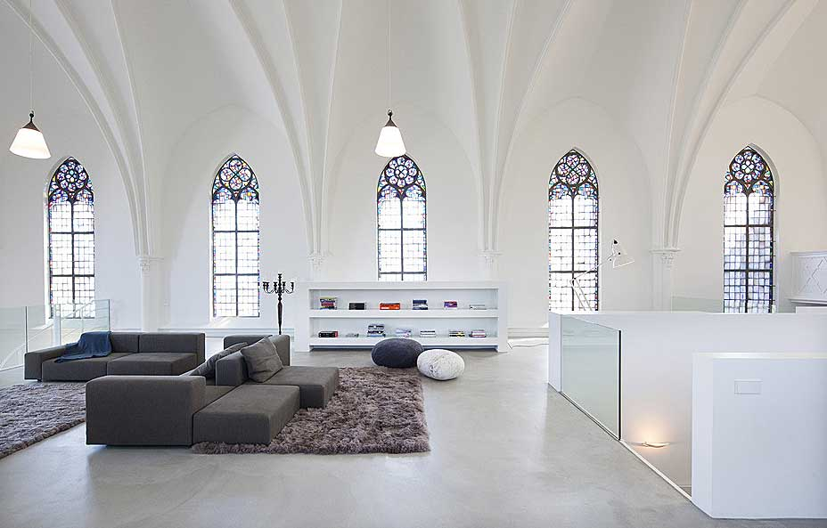 Home Tour: An 1870 Church Converted Into A Contemporary Residential Space
