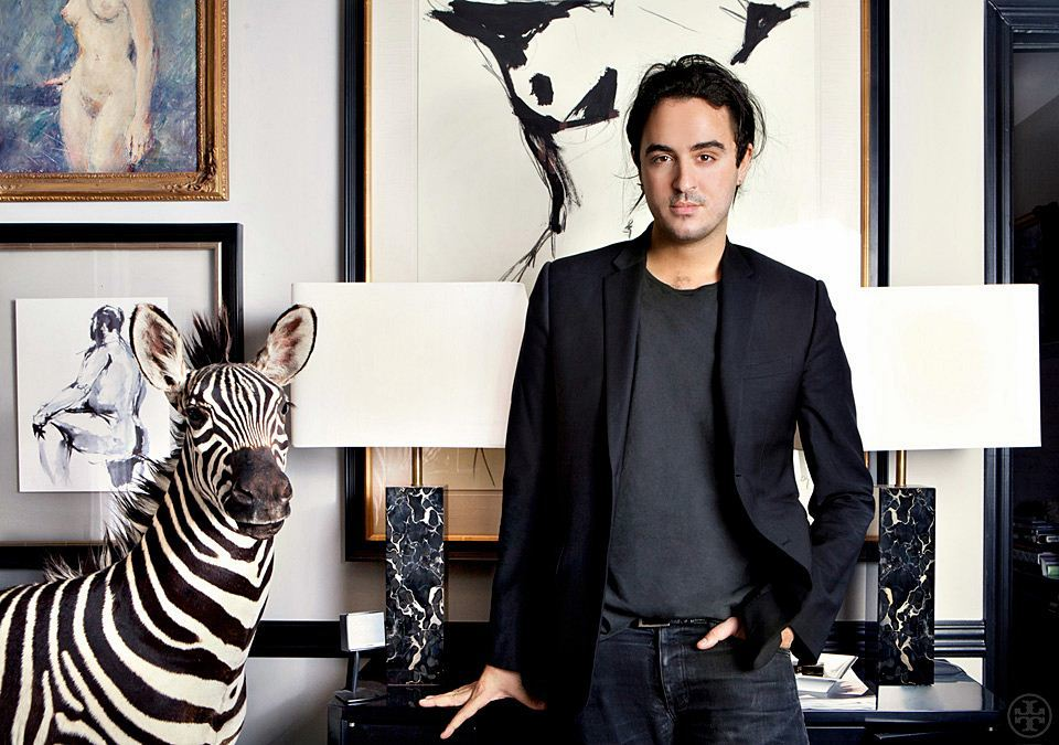 Ryan Korban and His Love Affair with Zebra Rug