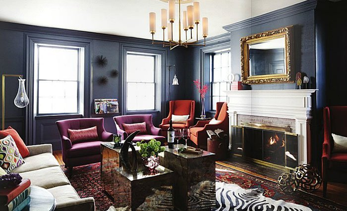 5 Dark Interior Designs You Should Be Copying Right Now