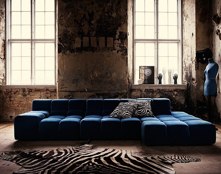 Outsourcesol-Zebra-Rug-Interior-Industrial-Home-Living-Room