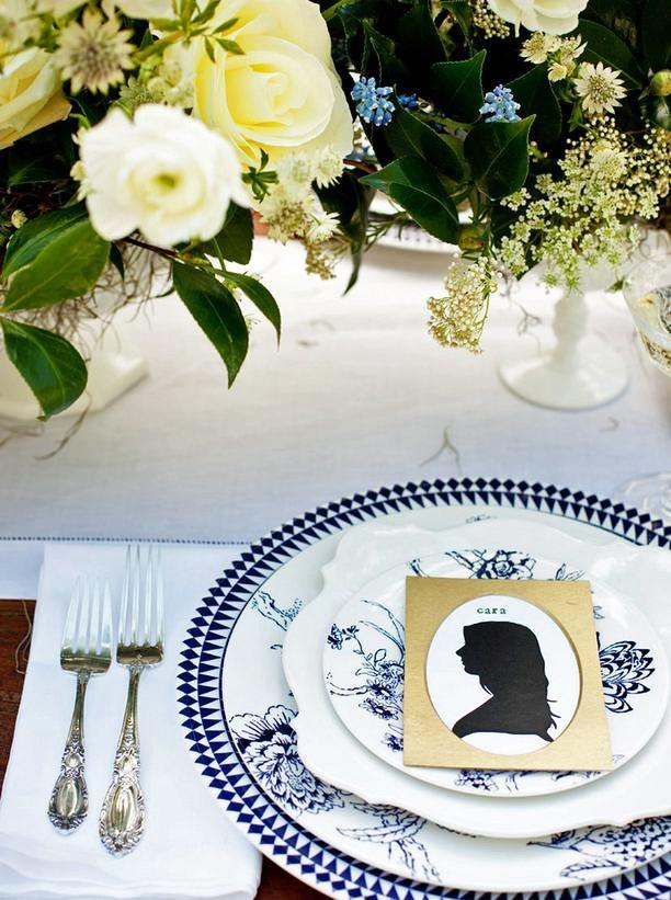 Thanksgiving-Table-Setting-silhouette