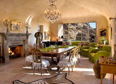 suzanne-somers-zebra-rug-Palm-Springs-house