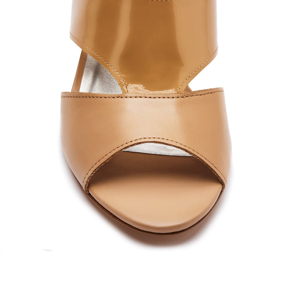 """Justine"" Mixed Media T-strap Cutout Sandal"