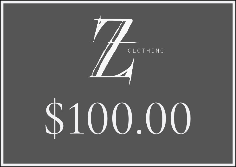 $100.00 Z Clothing Gift Voucher