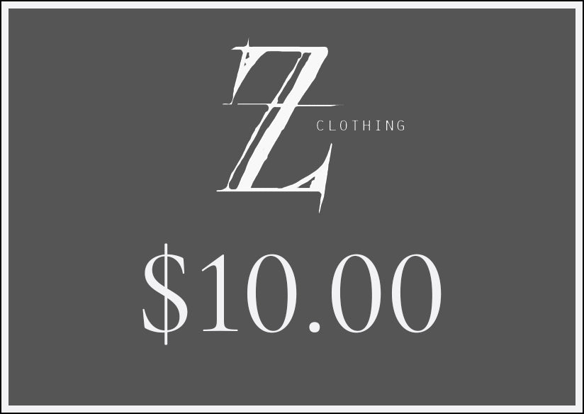 $10.00 Z Clothing Gift Voucher
