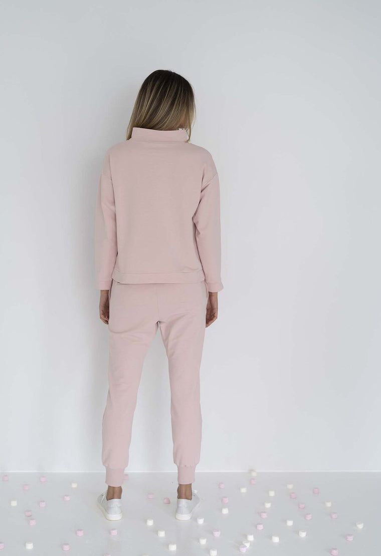 Farah Sweater - Blush