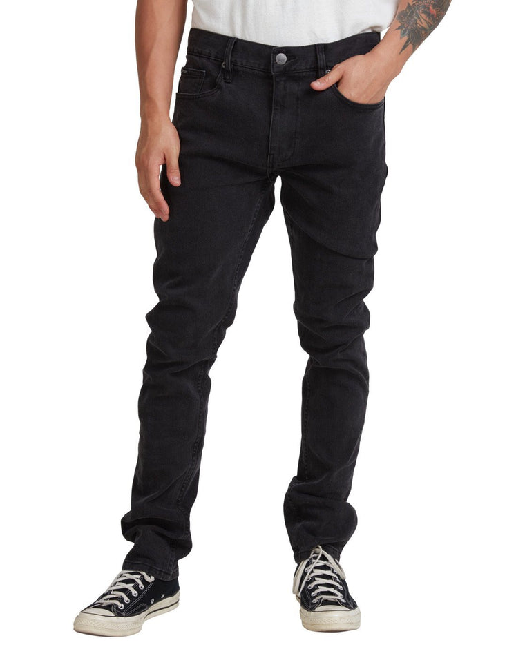 Hexed Denim Vintage -Black