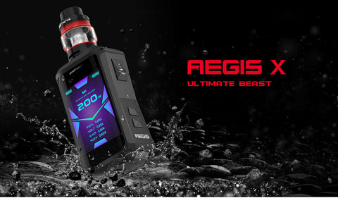 Geekvape Aegis Legend X 200W TC Kit with Cerberus Atomizer