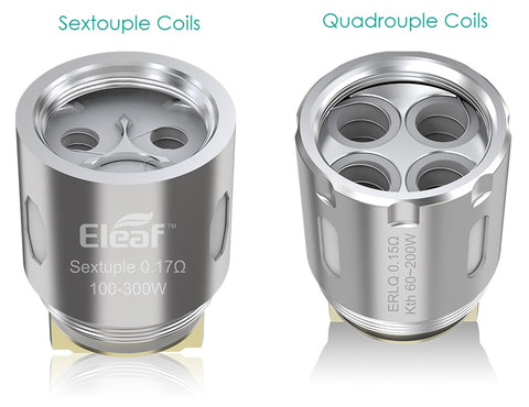 REPLACEMENT COILS FOR THE MELO 300 / TFV8 ELEAF