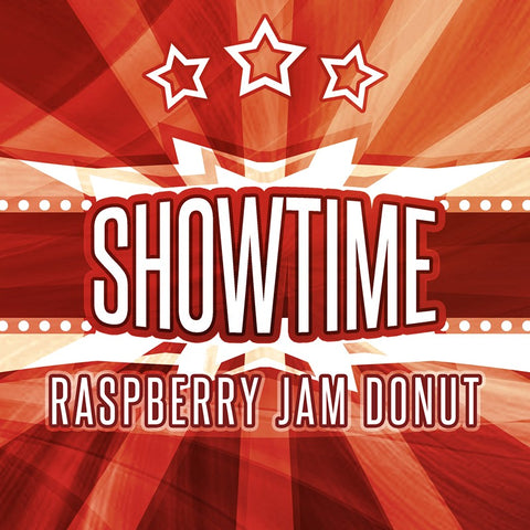 SHOWTIME - Raspberry Jam Donut