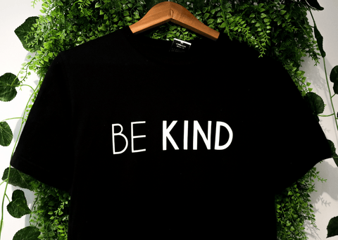 BE KIND T-SHIRT | BLACK | UNISEX
