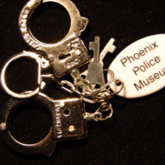 Police Mini handcuffs Key Chain