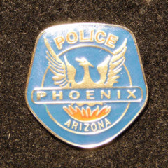 Phoenix Police Department Patch Pin