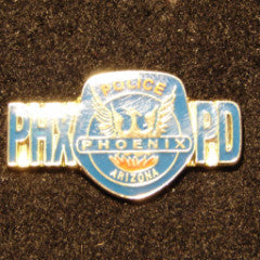 Phoenix Police Department Logo Pin