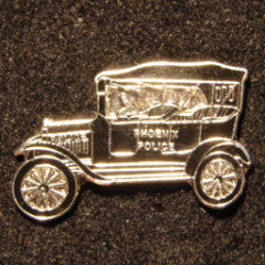 Antique 1919 Ford Police Car Pin