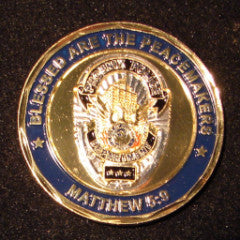 "Saint Michael ""Peace Makers"" Challenge Coin"