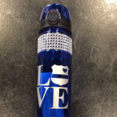 Support Police Water Bottle