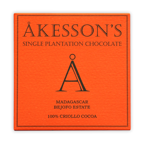 Akesson's Madagascar Criollo 100% Dark Chocolate