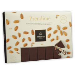 Amedei Prendimé Dark Chocolate w/ Almonds 65% (500 g)