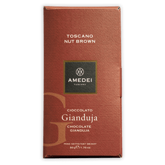 Amedei Toscano Nut Brown Gianduja