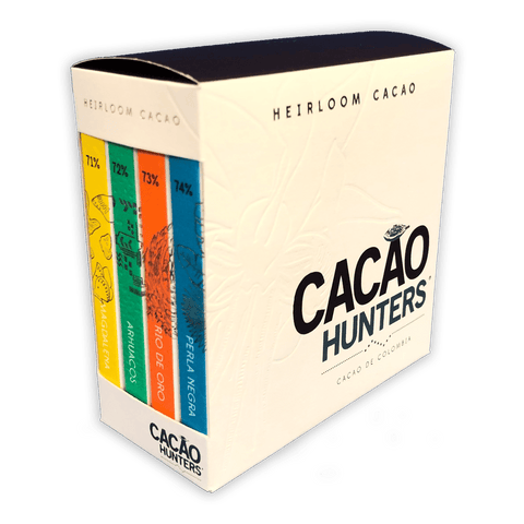 Cacao Hunters Heirloom Collection Dark Chocolate Gift