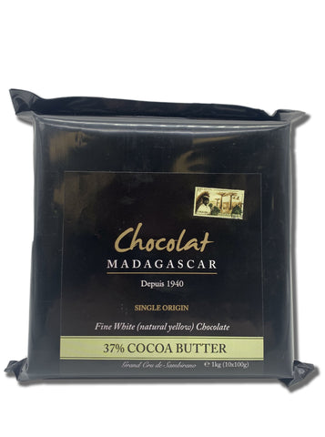 Chocolat Madagascar White Gold 37% (Couverture) 1kg