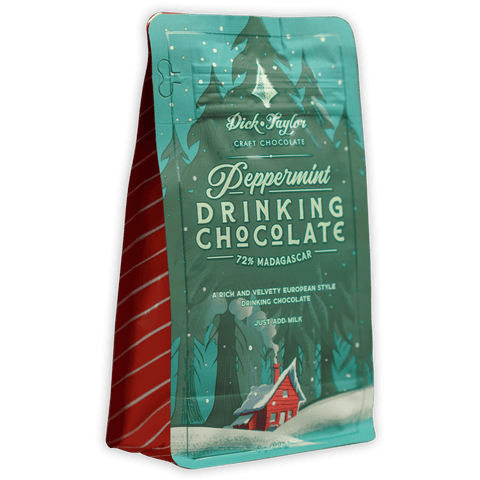 Dick Taylor Peppermint Drinking Chocolate (Seasonal)