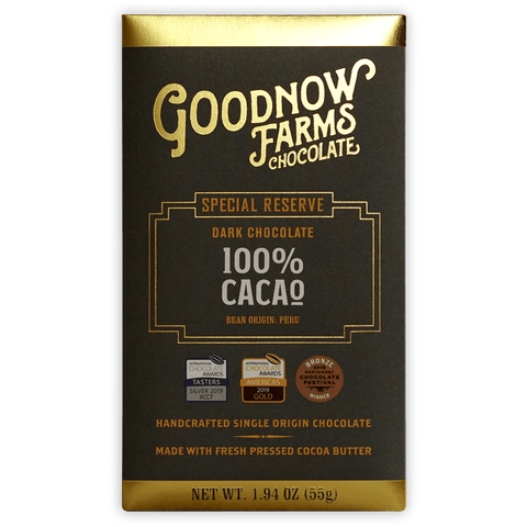 Goodnow Farms 100% Cacao