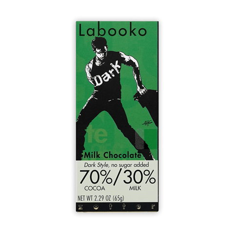 "Labooko Milk chocolate 70% ""dark style"""
